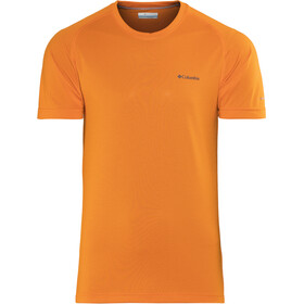 Columbia Mountain Tech III T-shirt à col ras-du-cou Homme, heatwave